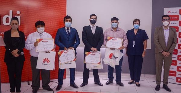Tres jóvenes bolivianos llegaron a la final en el concurso de Huawei ICT  Competition 2020   ITseller Bolivia